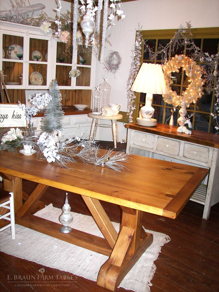 1000 Images About Reclaimed Barn Wood Furniture By E Braun Farm Tables On Pinterest