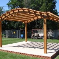 17 Best ideas about Curved Pergola on Pinterest ...