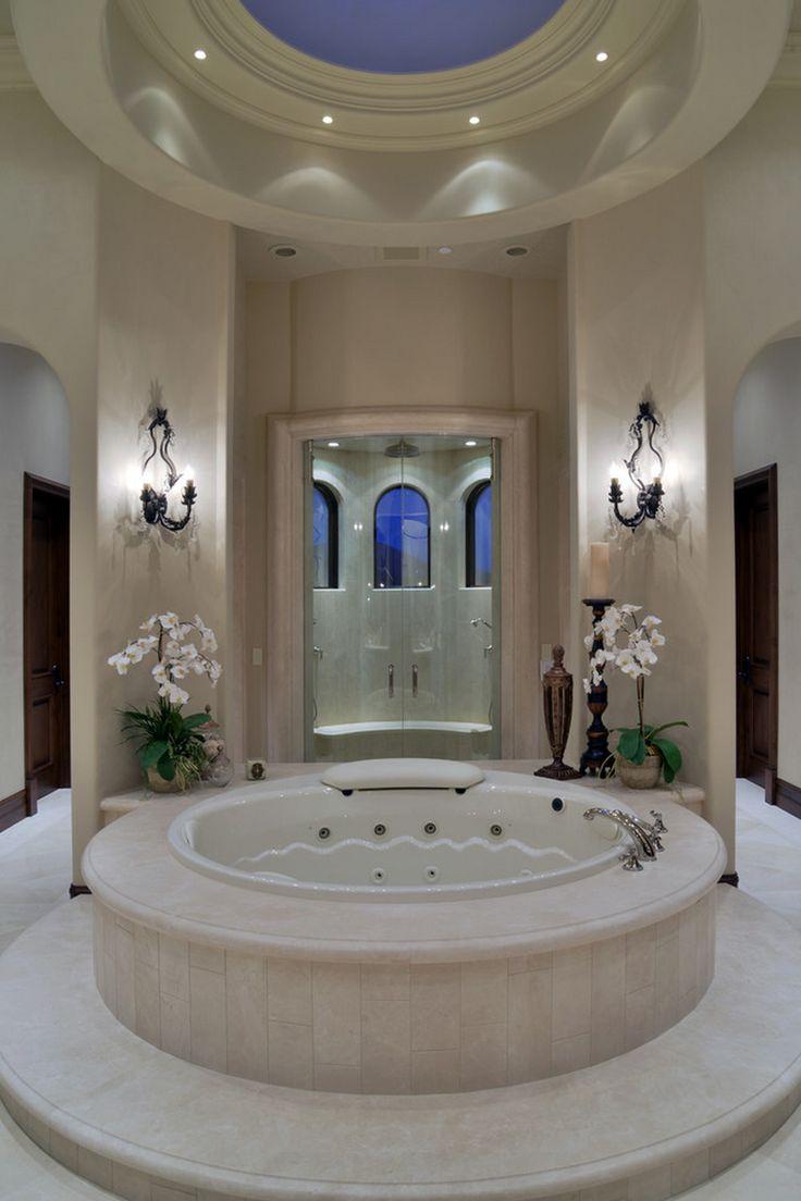 1000 ideas about Luxury Master Bathrooms on Pinterest  Tuscan Bathroom Decor Tuscan Bathroom