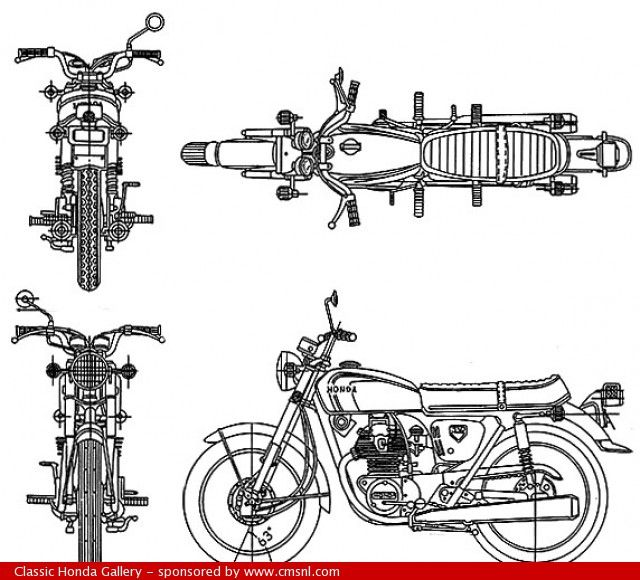 34 best images about CMSNL Honda CB350F Four on Pinterest