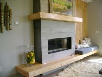 Modern Fireplace Surround - WoodWorking Projects & Plans