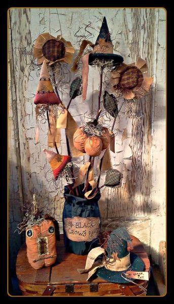primitive halloween decor 17 Best images about Crafts-Fall Primitive on Pinterest