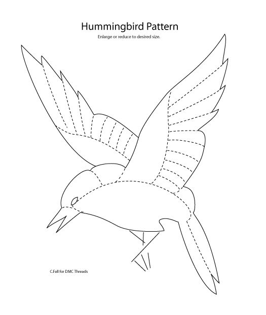 85 best images about embroider hummingbirds on Pinterest