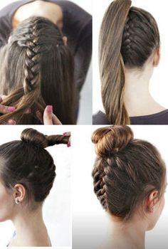 Die 18 Besten Bilder Zu Frisur Auf Pinterest Frisuren Ombré
