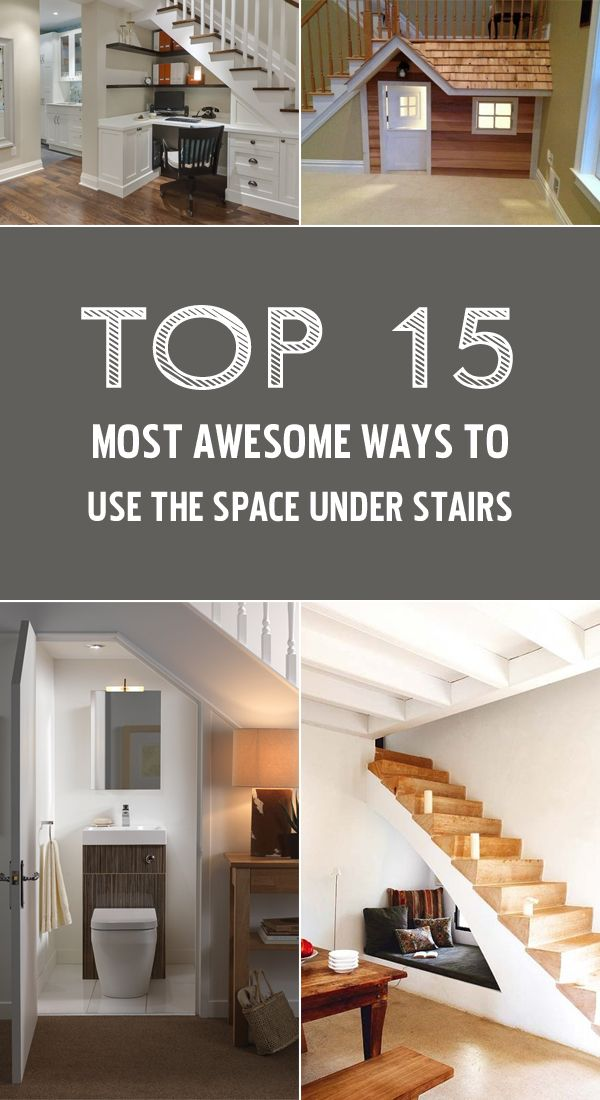 TOP 15 Most Awesome Ways To Use The Space Under Stairs  Home The ojays and Stairs