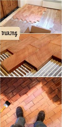 61 best Wood Block & Wood Brick Flooring images on Pinterest