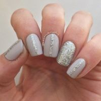 25+ Best Ideas about Grey Nail Designs on Pinterest