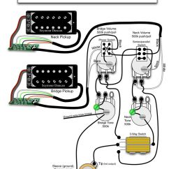 Push Pull Pot Wiring Diagram Submersible Pump Seymour Duncan - 2 Triple Shots, Humbuckers, Vol, Tone (one With Phase ...