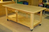 Rolling Assembly Table      Pinterest   Wheels ...
