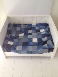 Dog Bed made of used denim. | Denim | Pinterest | Dog beds ...
