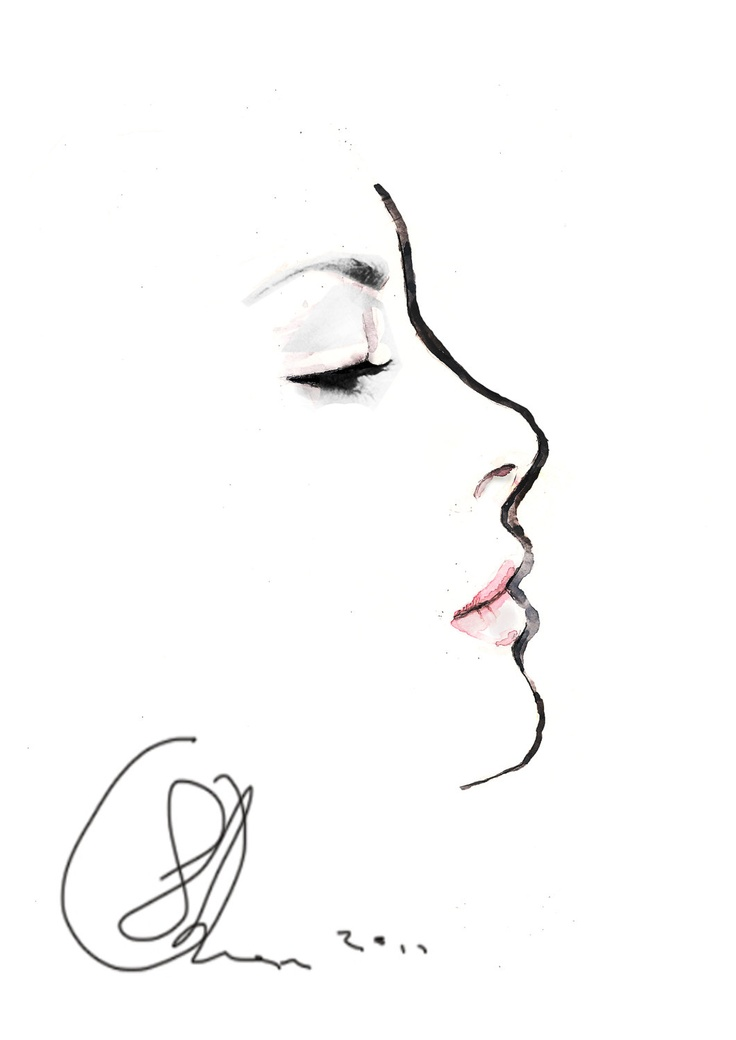 17 Best ideas about Face Illustration on Pinterest
