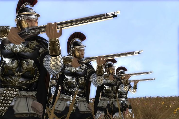 Giving The Romans Guns Is Just Unfair Thera Games