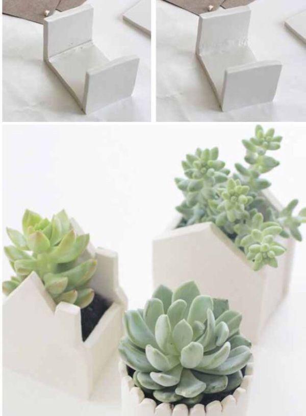 make modern succulent pots