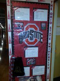 25+ best ideas about College door decorations on Pinterest