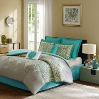 8 Piece Madison Park Comforter Set Bed in a Bag QUEEN Maya ...