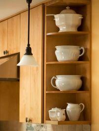End cap corner shelves | Kitchen | Pinterest | Shelves ...