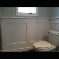 Wainscoting, Wainscoting in bathroom and Wainscoting ...