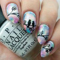 Best 25+ Bird Nail Art ideas on Pinterest | Feather nail ...
