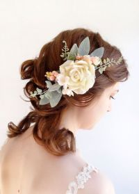 17 Best ideas about Flower Hair Pieces on Pinterest ...