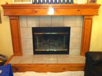 The $157.41 Ugly Oak Fireplace Mantle Makeover | Airstone ...