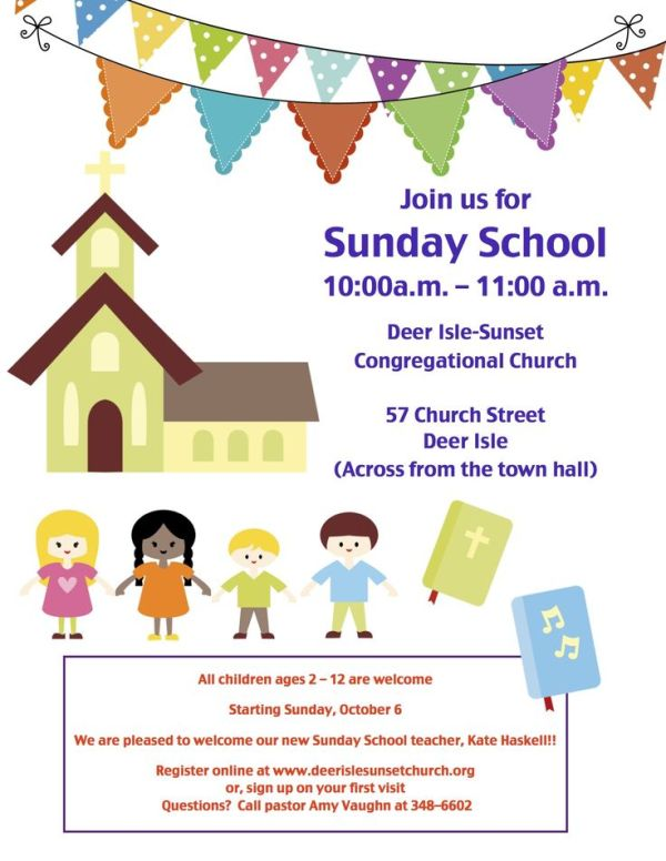 sunday school invitation flyer Google Search Childrens
