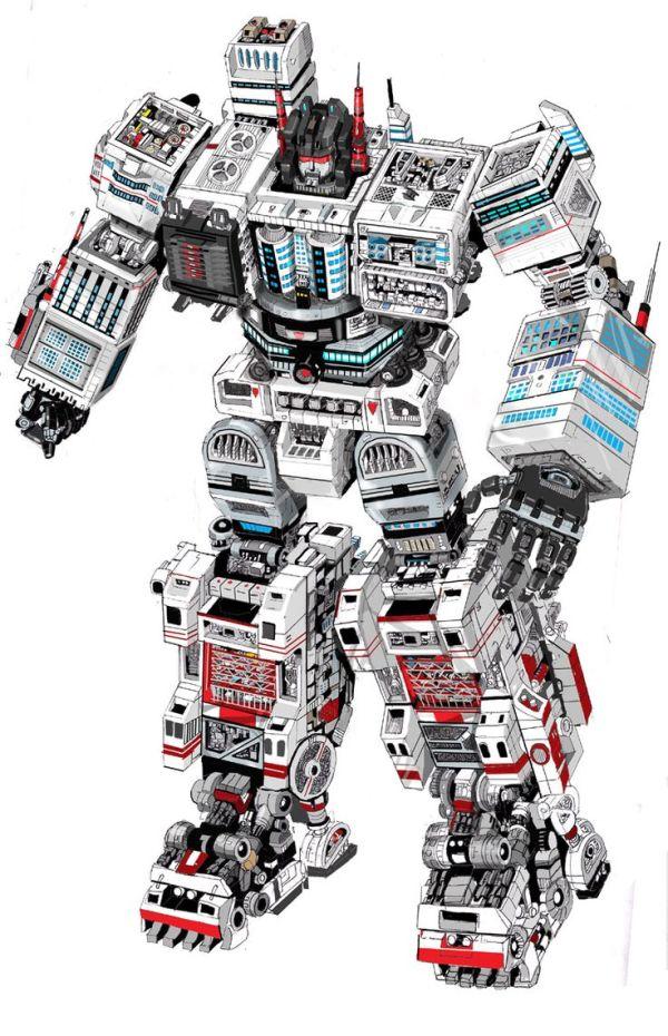 Metroplex Transformers Movie concept Metroplex by