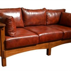 Mission Brown Leather Sofa Chesterfield Bed Manchester 1000+ Ideas About Furniture On Pinterest | Amish ...