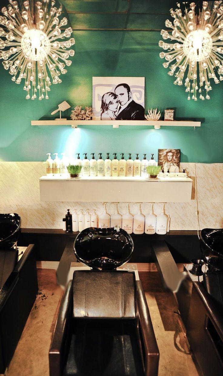 Elysium Salon Vintage Glam Shampoo Room by Jesse Vickers  Salon Today  Shampoo Area