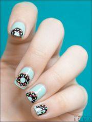 long nails - donuts. 't