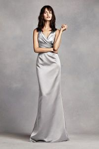 David's Bridal. (In Charcoal) White by Vera Wang Wrap