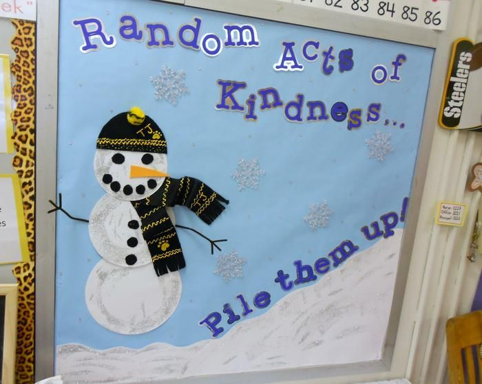 1000+ ideas about Kindness Bulletin Board on Pinterest