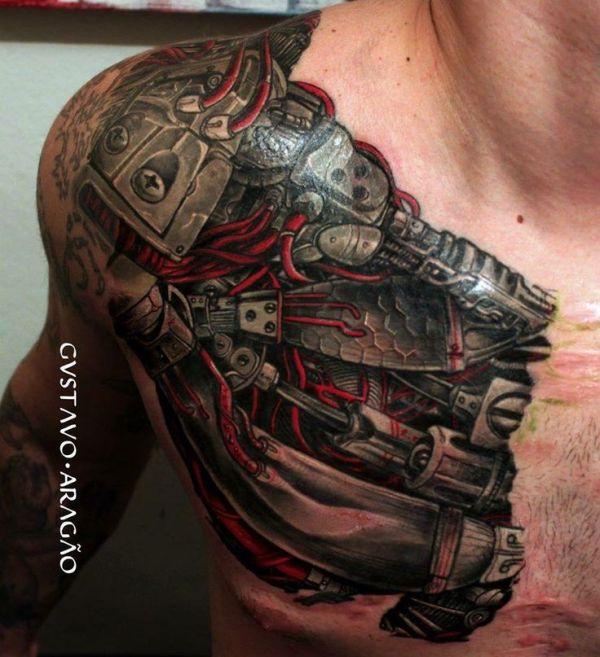20 Steampunk Rip Tattoos Ideas And Designs
