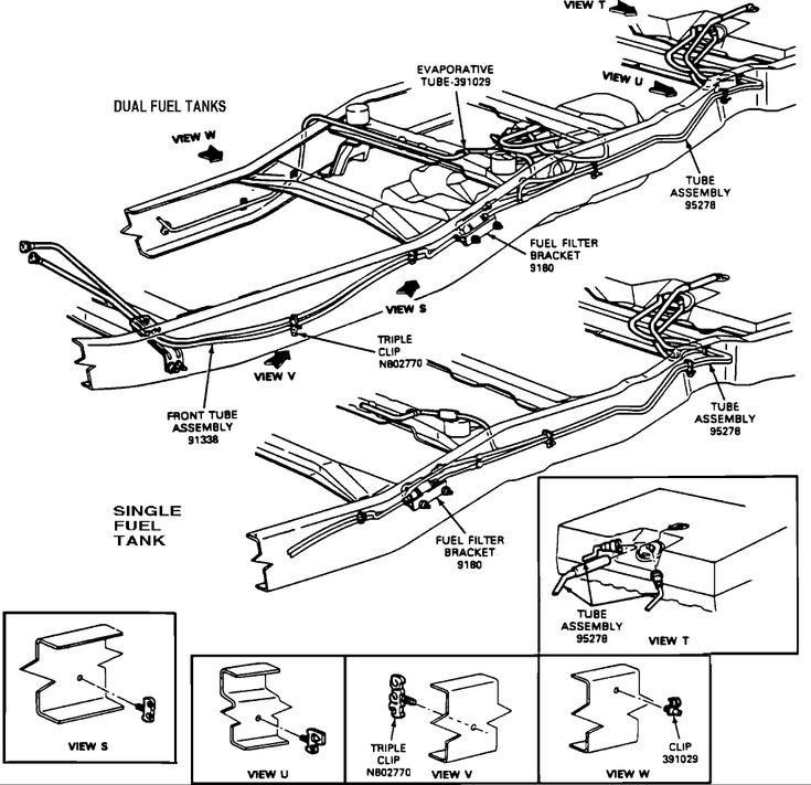 2003 ford explorer exhaust diagram polaris predator 500 wiring 1996 f 250 brake lines | f-250 line ...