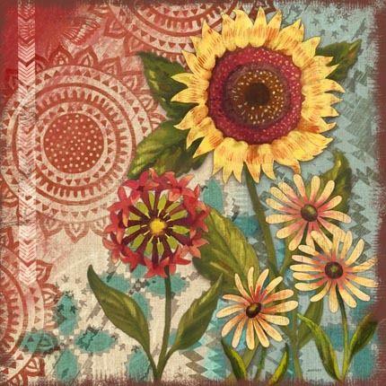 """native sunflowers-meadow"" jennifer"