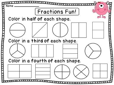 Best 25+ Fractions worksheets ideas on Pinterest