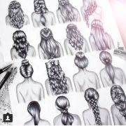 hairstyles drawings