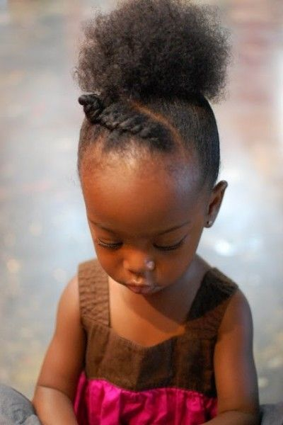 35 Best Images About Cute Kid Puff Ball Hairstyles On Pinterest