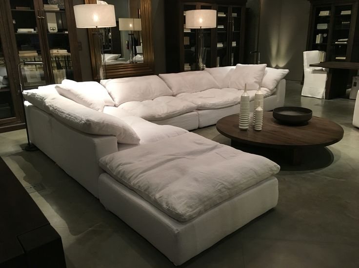 leather sectional sofa restoration hardware bed reviews 2018 uk 25+ best ideas about on ...