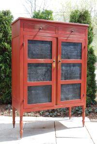 kitchen pie safe cabinet | vintage kitchen open pantry ...