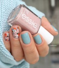 25+ best ideas about Floral nail art on Pinterest | Spring ...