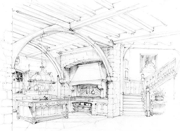 1385 best images about Sketchbook : Room & Facade on