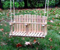 Best 25+ Wooden swings ideas on Pinterest