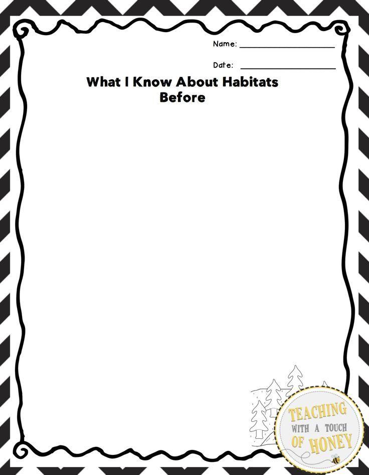 432 best images about HABITAT activities on Pinterest