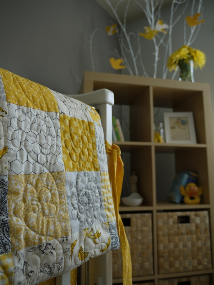 45 Best Images About Yellow And Grey Baby Room On