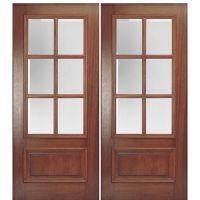MAI Doors DD6L-2 Delta True Divided Lite, 6-Lite Panel ...