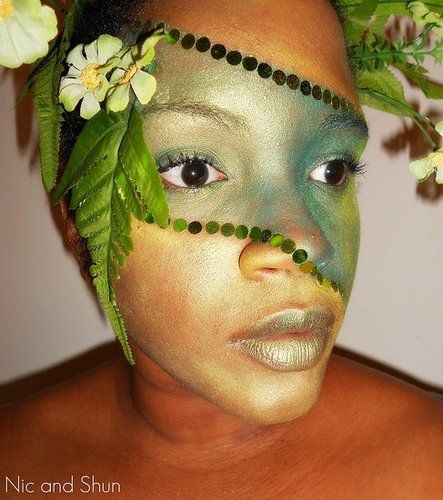 mother nature makeup Face Paint Pinterest Mothers
