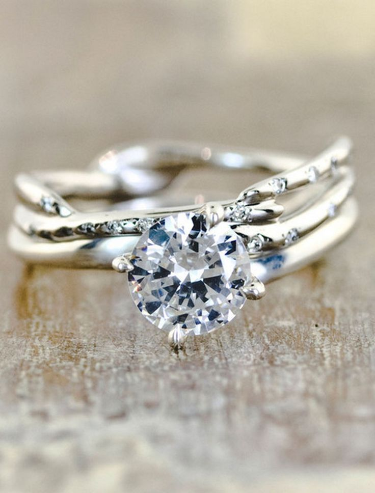 17 Best ideas about Engagement Rings Unique on Pinterest  Wedding ring Unique wedding rings