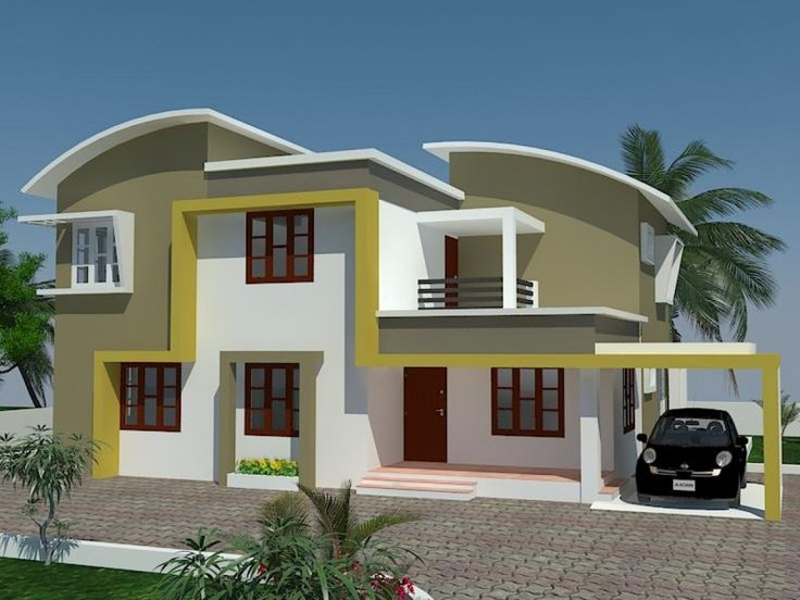 Beautiful Exterior House Paint Colors Ideas: Modern