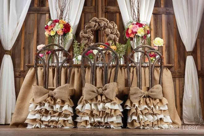 diy wedding chair covers pinterest outdoor lounge chairs lowes burlap decor ideas. hobby lobby photo   ideas!! over the, ...