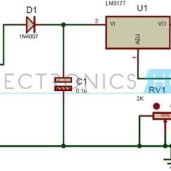 Shunt Signal Wiring Diagram 350 Engine Belt Solar Battery Charger Circuit Using Lm317 Voltage Regulator | Charger, And ...